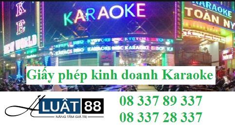 Giấy phép kinh doanh dịch vụ karaoke tại nghệ an;