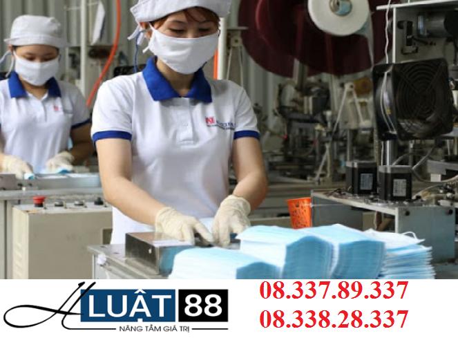 Thành lập công ty sản xuất thiết bị y tế tại Nghệ An