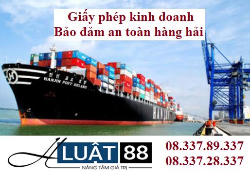 Giấy phép kinh doanh bảo đảm an toàn hàng hải