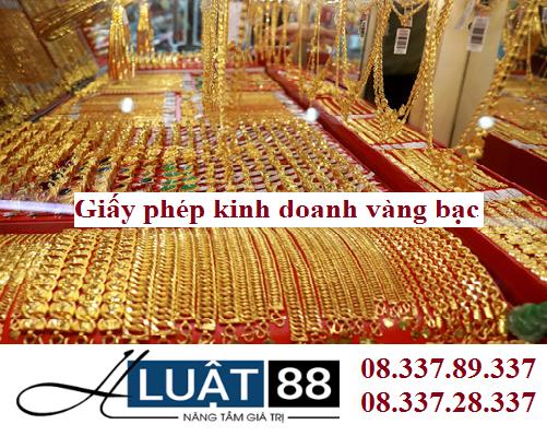 Giấy phép kinh doanh vàng bạc tại nghệ an