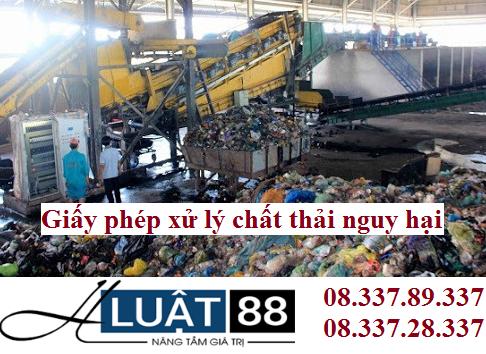 Giấy phép xử lý chất thải tại nghệ an