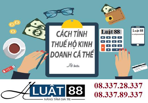 Hồ sơ khai thuế khoán hộ kinh doanh