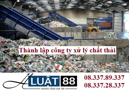 Thành lập công ty xử lý chất thải tại nghệ an