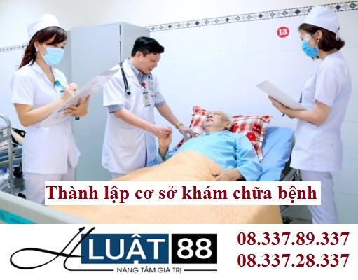 Thành lập cơ sở khám chữa bệnh tại nghệ an